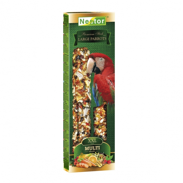 XXL Multi-taste Premium stick for big parrots